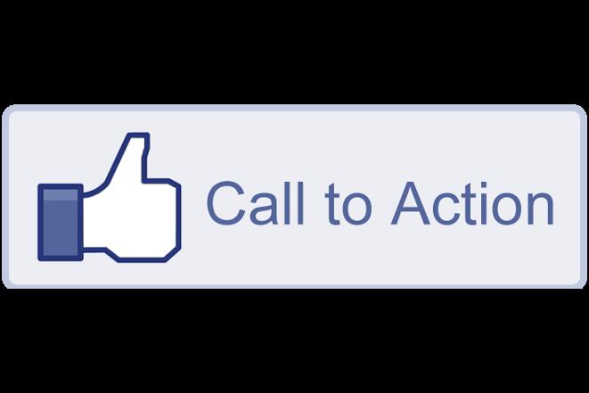 """Daumen-hoch-Icon neben dem Satz """"Call to Action"""""""