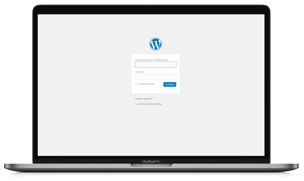 wordpress cms k-webs