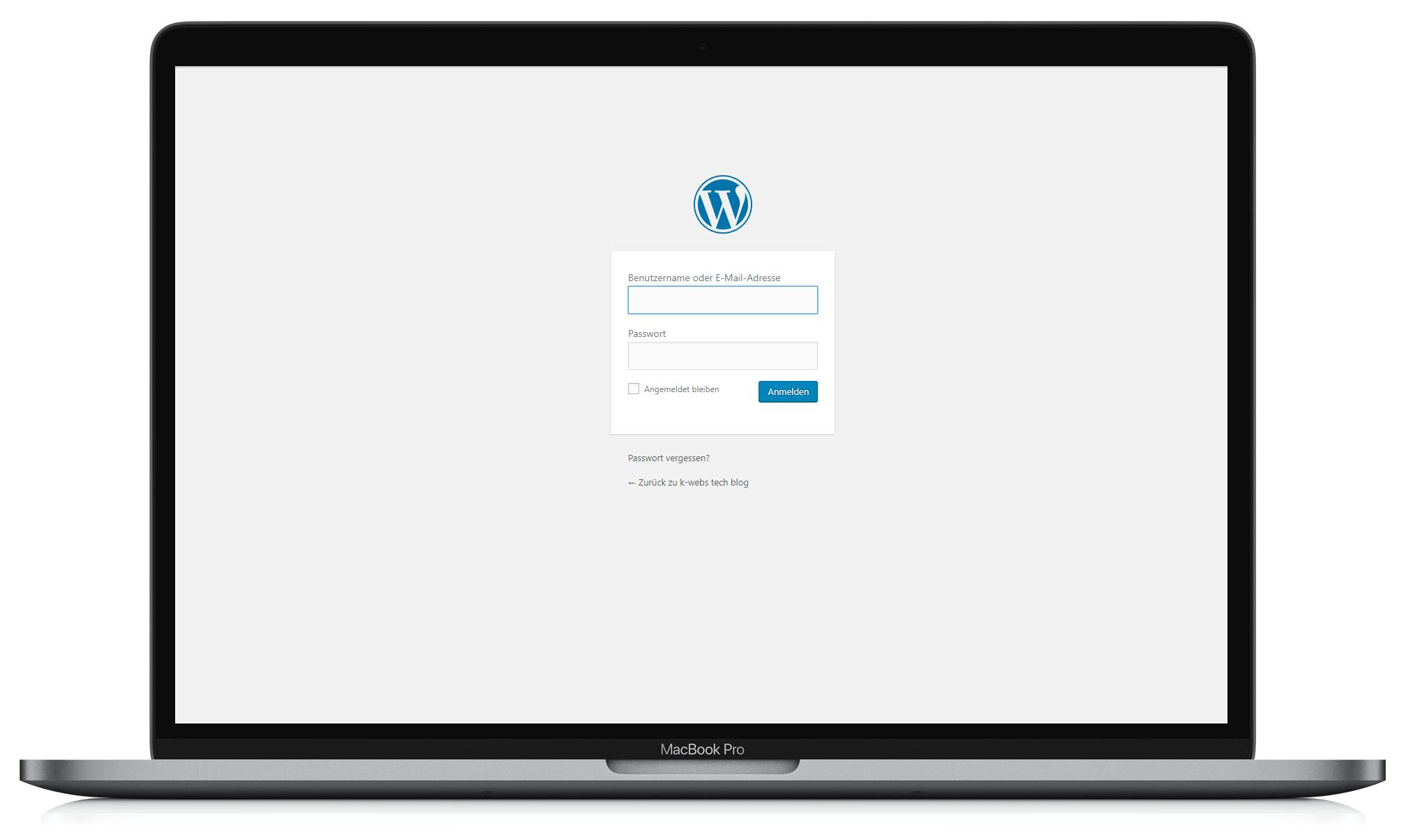 wordpress cms k-webs