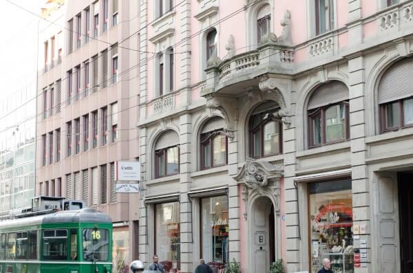 k-webs Fassade Güterstrasse 141 Basel