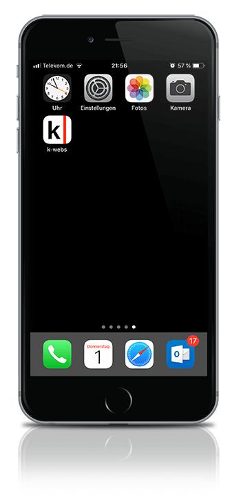 k-webs app klein