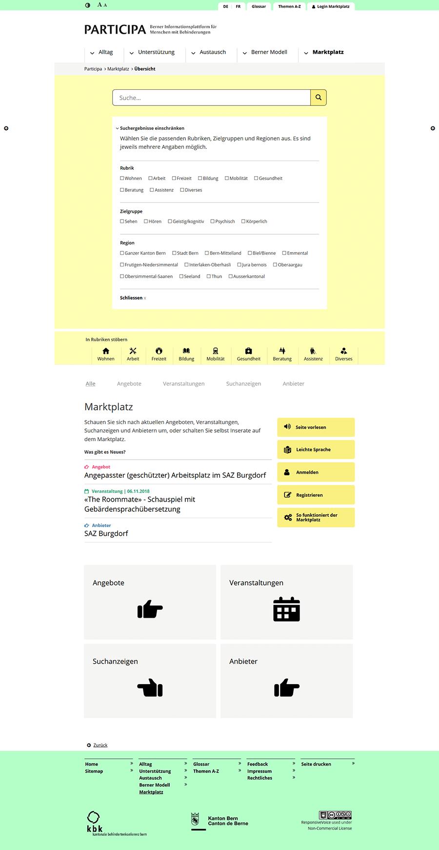 participa screenshot 2
